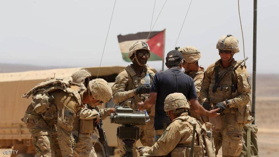 جنود في مناورات عسكرية