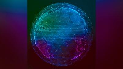 الكرة الأرضية بلا حدود فاصلة