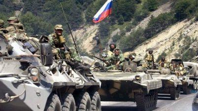 دبابات وجنود روس في سوريا