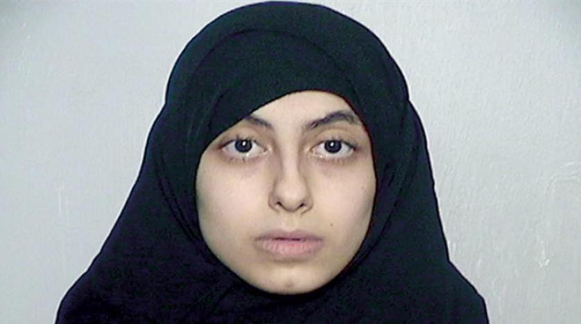 آلاء أبو سعد طالبة أمريكية