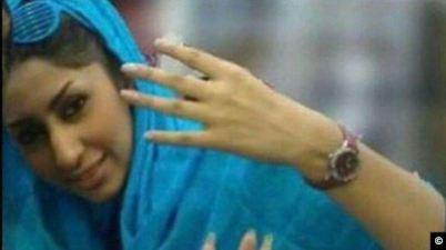 فتاة حرقت نفسها إيران