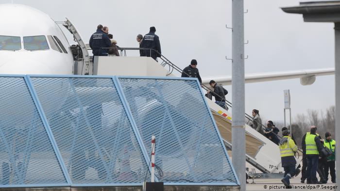 ترحيل لاجئين ألمانيا
