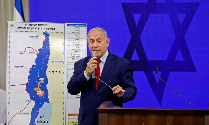 ضم غور الأردن لإسرائيل