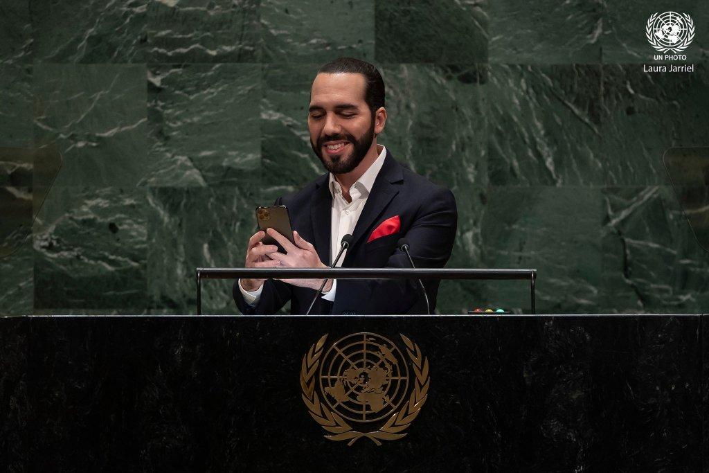 نجيب أبوكيلة رئيس السلفادور بالأمم المتحدة