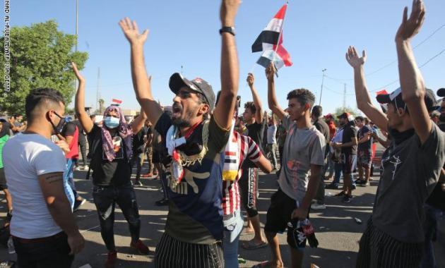تظاهرات العراق