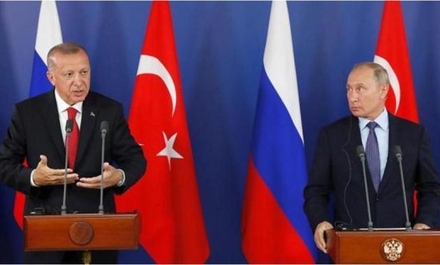 بوتين - أردوغان