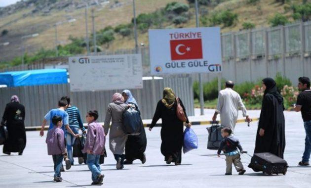 لاجئين سوريين تركيا