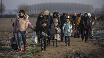 المهاجرين تركيا اليونان