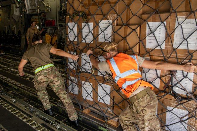 مساعدات بريطانية