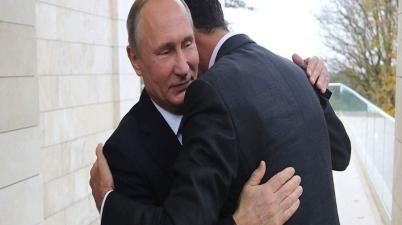 بوتين الأسد