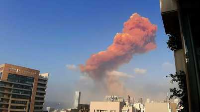 انفجار المرفأ