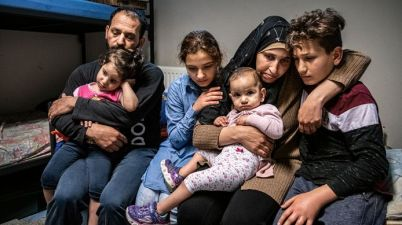 عائلة الطفل علي غزاوي