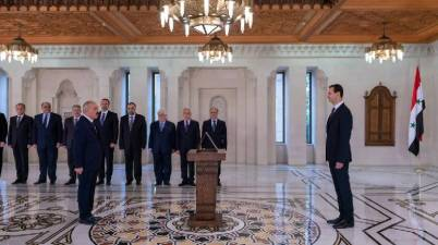 عقوبات أوروبية على وزراء الأسد