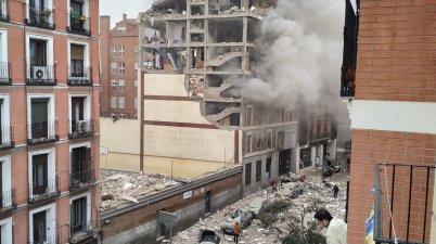 انفجار مدريد اسبانيا