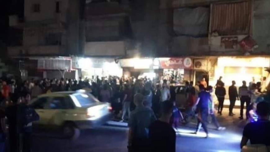 حلب رمي قنبلة